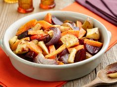 Get this all-star, easy-to-follow Oven-Roasted Root Vegetables recipe from Food Network Kitchen.