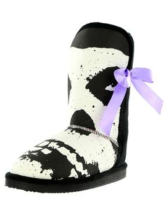 """""""Misfits"""" Fuggly Boots by Iron Fist (Black)"""
