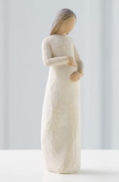 Cherish - Willow Tree Figurine - The Shabby Shed Sentiment: Awaiting a miracle