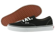 94fbd3a3baaa8f Vans Authentic Era Canvas Black Fashion Shoes Medium (B