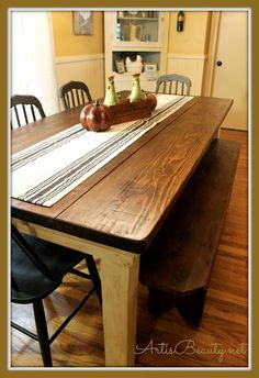 40 Free Diy Farmhouse Table Plans To Give The Rustic Feel To Your Extraordinary Farmhouse Dining Room Table Plans 2018