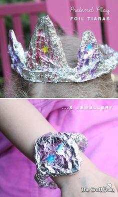 Foil Tiara craft for kids
