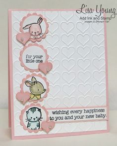 Stampin' Up! Made With Love - Baby Card