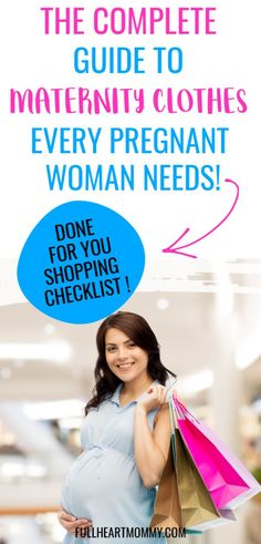 Stylish maternity clothes can make a big difference on how you look and feel during pregnancy. Here's how to save money on a stylish maternity wardrobe! Pregnancy Checklist, Pregnancy Must Haves, Pregnancy Advice, Pregnancy Workout, Pregnancy Products, First Time Pregnancy, Pregnancy Books, Stylish Maternity, Maternity Fashion