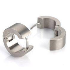 0503-01 Boccia Titanium Earrings