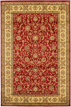 Red 4' 11 x 7' 7 Mashad Rug | Area Rugs | eSaleRugs