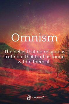 Agama bukanlah sebuah kebenaran namun di dalam agama, kita menemukan kebenaran-kebenaran.