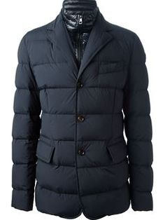 Moncler 'rouillac' Padded Jacket - Parisi - Farfetch.com