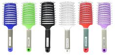 Charmvit Professional Detangling and Styling Paddle Hair Brush 1 Set - 6 Colors *** This is an Amazon Affiliate link. To view further for this item, visit the image link.