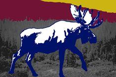 Niet alleen is het gewei van het dier imposant, maar ook de eland zelf kan wel 3,5 meter lang met een schofthoogte van 2,20m worden. Elanden zijn de grootste gewei dragende dieren en stralen daardoor een enorme robuustheid en kracht uit. Hierdoor heb je ze niet graag als tegenstander. Lees meer: Moose Art, Van, Animals, Animales, Animaux, Animal Memes, Vans, Animal, Animais