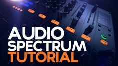 Audio Spectrum After Effects Tutorial