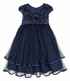Pippa and Julie 2T6X SoutacheBodice Ballerina Dress #Dillards