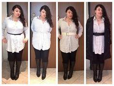 Curvy outfit: come indossare la maxi camicia #curvy #curvyoutfit #moda #abbigliamento #fashion #fashionblog #camicia #maxicamicia #chemisier #shirtdress #camicione #plussize #estate2015 #primavera2015 #ss2015