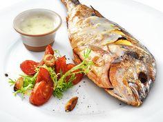 Морской окунь с вкуснейшим соусом - Kurkuma project (Проект Куркума)