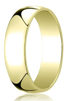 PalmBeach Mens 4 Mm Wedding Band In 14k Yellow Gold By Palm Beach Jewelry
