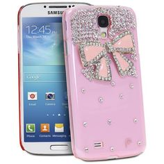 Fosmon GEM Series 3D Bow Bling Design Case for Samsung Galaxy S4 IV / i9500 (Pink / Pink Bow) by Fosmon, http://www.amazon.com/dp/B00DL3VLG0/ref=cm_sw_r_pi_dp_DI6bsb1NQF523