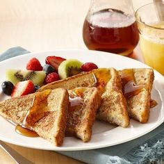 Vanilla extract and cinnamon bring a richness of flavor to French toast. Pick your favorite bread - white, Italian, French or whole wheat. Serve with...