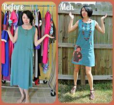 A Dress a Day - great refashion ideas!