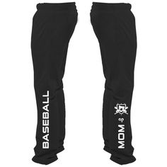 Baseball Mom Sweatpants....mama needs these ;)