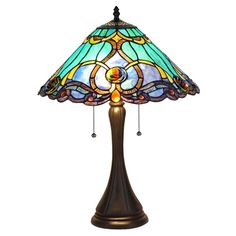 "CHLOE Lighting CH35372BV16-TL2 Table Lamp ""KEEGAN"""