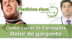 Curar el dolor garganta. Consejos médicos para la faringitis - YouTube Youtube, Cards, Medicine, Female Doctor, Chokers, Tips, Maps, Playing Cards, Youtubers