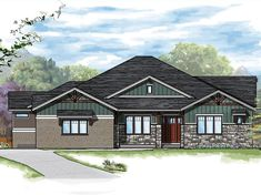 The Aspen model planby Sopris Homes offers both stunning elegance and supreme functionality. The floor plan design employs advanced concepts on the open floor