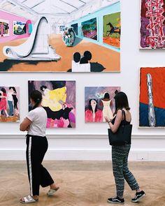 Strolling around the Royal Art Academy Summer Exhibition