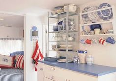 Madison Avenue Baby Craft & Decorate: Decorate a Camper in Red White & Blue