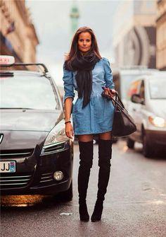 #джинса #платье #свобода #стиль