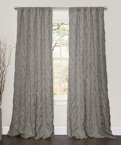 Another great find on #zulily! Gray Comet Curtain Panel by Lush Décor #zulilyfinds