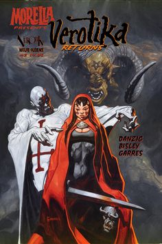 Morella Presents: Verotika Returns Special # 1 (Verotik) Arte Horror, Horror Art, Comic Book Covers, Comic Books, Gothic Characters, Danzig Misfits, Simon Bisley, Comic Kunst, Sword And Sorcery