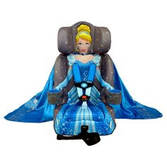 KidsEmbrace Combination Booster Car Seat - Disney Cinderella Platinum