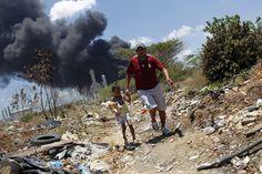 Explosión en Amuay #Venezuela (Agencia)