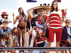 Tommy Hilfiger Nautical clothing