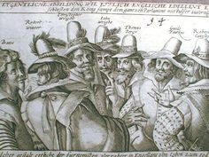 """Today the Gunpowder Plot is the early modern act of treason, but in truth it was one in a series of conspiracies—albeit one of spectacular ambition. That it became a fixture in the national calendar owed much to the plot's value to protestants of the seventeenth and eighteenth-centuries as a warning of what they saw as the threat posed by Catholicism."" Philip Carter, Oxford Dictionary of National Biography (Guy Fawkes and the Gunpowder plotters, 1606, via Wikimedia.) #GuyFawkes…"