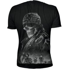 Biker From Hell T-Shirt - Lethal Threat  http://amzn.to/1T2onch