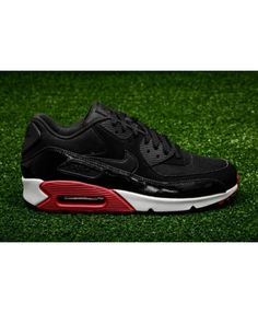 3885c9e6ff74de Buy the latest fashion Nike Air Max 90 Essential Black Gym Red White Men s  Shoes to enjoy the best Discounted price.