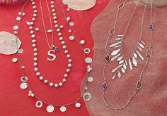 Great lengths!  #Layer up with #Silpada #Designs #Pearl #Sterling #Silver #Swarovski Crystal