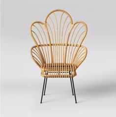 Home Decor 28 Target Home Decor Items You Need In Your Life (and on your Wedding Registry!) - Avocet Rattan Fan Back Accent Chair - Opalhouse™ Boho Living Room, Living Room Chairs, Living Room Furniture, Dining Room, Bohemian Living, Rattan Bar, Rattan Chairs, Dining Chairs, Chair Cushions