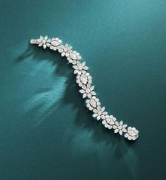 An important diamond bracelet, by Van Cleef and Arpels,                                                                                                                                                                                 More