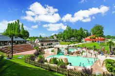Camping***** Le Domaine des Ormes - Epiniac . Een top camping