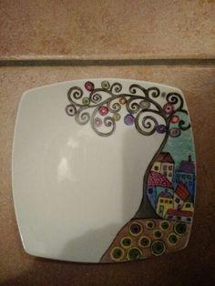 Plastic Cutting Board, Plate