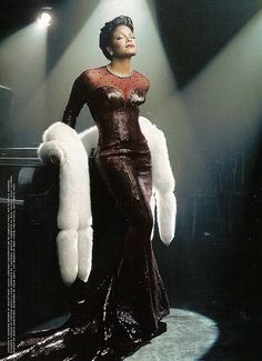 Janet Jackson in Gown as Lena Horne photo by Annie Leibovitz for Vanity Fair Janet Jackson, The Jackson Five, Jackson Family, Michael Jackson, Beautiful Black Women, Beautiful People, Beautiful Life, Beautiful Ladies, Divas