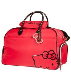 Hello Kitty Diva Collection Duffel Bag. Love this Hello Kitty Red ... 8e55778e0e460