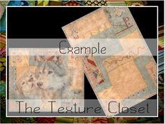 TTC - RUG- Native American Texture  Set