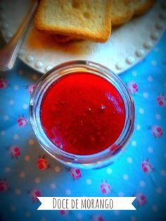 Adoro morangos e doce de morango é um dos preferidos cá de casa . Aproveitei ...