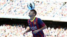 Neymars first day as a Barça player