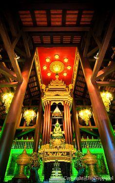 วัดพระแก้ว เชียงราย by Noppadol Pannarai on Chiang Mai Thailand, Chiang Rai, Thailand Destinations, Thailand Travel, Beautiful World, Beautiful Places, Beautiful Pictures, Chula, Place Of Worship