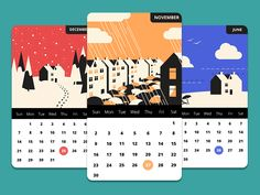 Hi! I want to present you some screens of concept calendar app that I made this weekends. Hope you like it) Yalantis