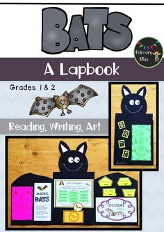 Students LOVE making this incredible Bat Lapbook as they learn about bats in a fun and engaging way.